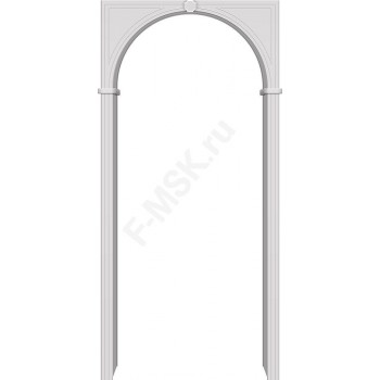 Межкомнатная ПВХ арка Браво Белый BRAVO  (Товар №  ZF10548)