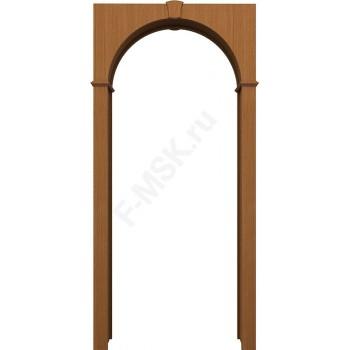 Межкомнатная шпонированная арка Браво орех файн-лайн BRAVO   (Товар №  ZF10557)
