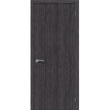Межкомнатная шпонированная дверь Евро В-0 ПГ Абрикос BRAVO Цвет: Абрикос Глухая (Товар №  ZF10546)