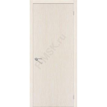Межкомнатная шпонированная дверь Евро В-0 ПГ Беленый дуб BRAVO Цвет: Беленый дуб Глухая (Товар №  ZF10547)