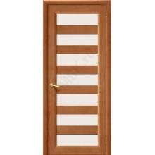 Межкомнатная дверь из Массива М3 ПО Светлый лак Белорусские двери Цвет: Светлый лак Остекленная (Товар №  ZF10616)