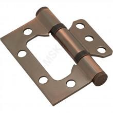 Петля без врезки стальная 2BB 75*63*2,5 AC Медь (универс.) BRAVO   (Товар №  ZF10728)