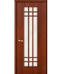 Межкомнатная ламинированная дверь 16С итальянский орех BRAVO Цвет: Итальянский орех Остекленная (Товар №  ZF1047)