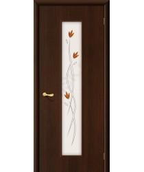 Межкомнатная ламинированная дверь 22Х венге BRAVO Цвет: Венге Фьюзинг (Товар №  ZF1030)