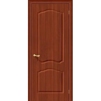 Межкомнатная дверь с ПВХ-пленкой Лидия ПГ, итальянский орех BRAVO Цвет: Итальянский орех Глухая (Товар №  ZF1035)