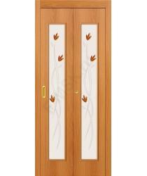 Дверь-книжка 22Х Миланский Орех BRAVO   (Товар №  ZF10794)