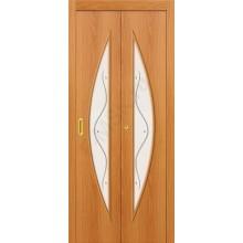 Дверь-книжка 5Ф Миланский Орех BRAVO   (Товар №  ZF10797)