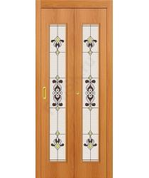 Дверь-книжка 23Х Миланский Орех BRAVO   (Товар №  ZF10800)