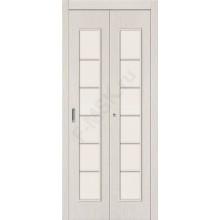 Дверь-книжка 2С Беленый дуб BRAVO   (Товар №  ZF10798)
