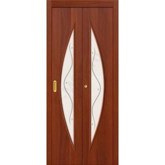 Дверь-книжка 5Ф Итальянский Орех BRAVO   (Товар №  ZF10799)