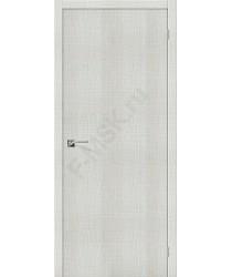Межкомнатная дверь с эко шпоном Порта-50 Bianco Crosscut el`PORTA Цвет: Bianco Crosscut Глухая (Товар №  ZF19523)