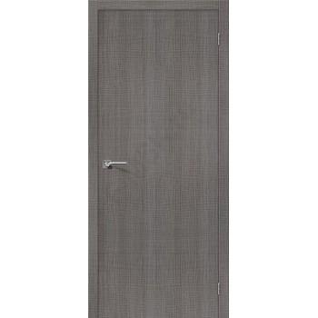 Межкомнатная дверь с эко шпоном Порта-50 Grey Crosscut el`PORTA Цвет: Grey Crosscut Глухая (Товар №  ZF19525)