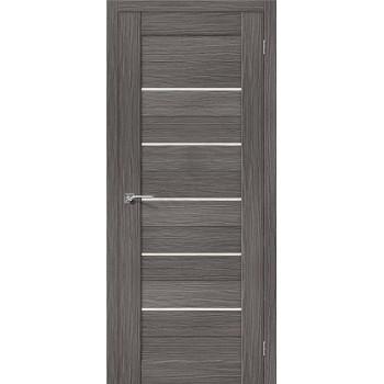 Межкомнатная дверь 3D-graf Порта-22 3D Grey el`PORTA Цвет: 3D Grey Остекленная (Товар №  ZF20070)