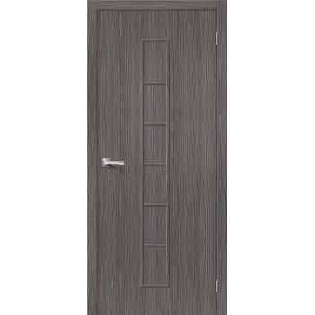 Межкомнатная дверь 3D-graf Тренд-11 3D Grey BRAVO Цвет: 3D Cappuccino Глухая (Товар №  ZF20082)