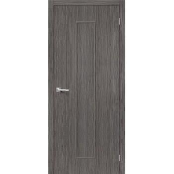 Межкомнатная дверь 3D-graf Тренд-13 3D Grey BRAVO Цвет: 3D Grey Глухая (Товар №  ZF20078)