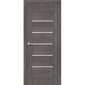 Межкомнатная дверь 3D-graf Тренд-22 3D Grey BRAVO Цвет: 3D Grey Остекленная (Товар №  ZF20084)
