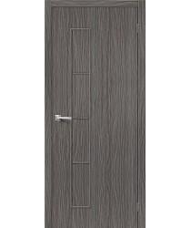 Межкомнатная дверь 3D-graf Тренд-3 3D Grey BRAVO Цвет: 3D Grey Остекленная (Товар №  ZF20087)