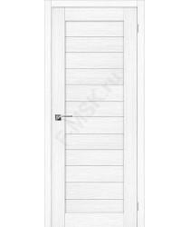 Межкомнатная дверь с эко шпоном Порта-22 ПО Snow Veralinga el`PORTA Цвет: Snow Veralinga Остекленная (Товар №  ZF20091)