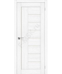 Межкомнатная дверь с эко шпоном Порта-29 ПО Snow Veralinga el`PORTA Цвет: Snow Veralinga Остекленная (Товар №  ZF20090)