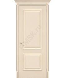 Дверь экошпон Классико-12 в цвете Ivory (Товар №  ZF38248)