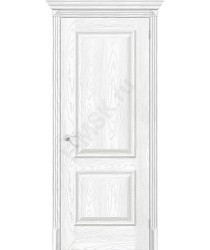 Дверь экошпон Классико-12 в цвете Silver Ash (Товар №  ZF38246)