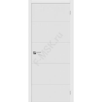 Дверь ПВХ Граффити-2 в цвете П-23 (Белый). (Товар №  ZF38224)