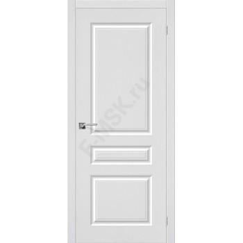 Дверь ПВХ Статус-14 в цвете П-23 (Белый). (Товар №  ZF38226)