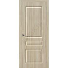 Дверь ПВХ Статус-14 в цвете П-34 (Шимо Светлый). (Товар №  ZF38233)