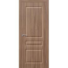 Дверь ПВХ Статус-14 в цвете П-35 (Шимо Темный). (Товар №  ZF38232)