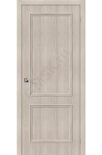 Дверь экошпон Симпл-12 в цвете Cappuccino Veralinga (Товар №  ZF38254)