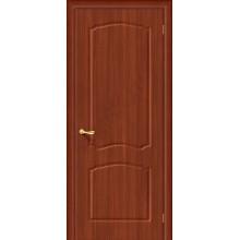 Межкомнатная дверь с ПВХ-пленкой Альфа ПГ, итальянский орех ГРАДВЕРЬ Цвет: Итальянский орех Глухая (Товар №  ZF1054)
