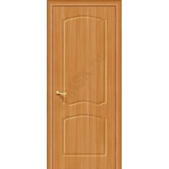Межкомнатная дверь с ПВХ-пленкой Альфа ПГ, миланский орех ГРАДВЕРЬ Цвет: Миланский орех Глухая (Товар №  ZF1052)