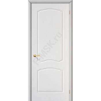 Межкомнатная дверь с ПВХ-пленкой Альфа ПГ, белая ГРАДВЕРЬ Цвет: Белый Глухая (Товар №  ZF1053)