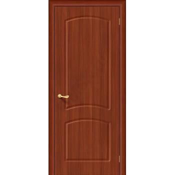 Межкомнатная дверь с ПВХ-пленкой Кэролл ПГ, итальянский орех BRAVO Цвет: Итальянский орех Глухая (Товар №  ZF1056)