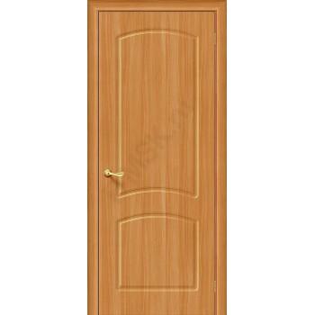 Межкомнатная дверь с ПВХ-пленкой Кэролл ПГ, миланский орех BRAVO Цвет: Миланский орех Глухая (Товар №  ZF1055)