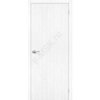 Дверь экошпон Тренд-0 в цвете Snow Veralinga (Товар №  ZF38296)