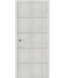 Дверь экошпон Серия Porta Z Порта-50А-6 в цвете Bianco Crosscut (Товар №  ZF38315)