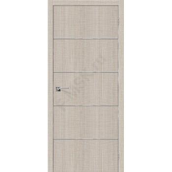 Дверь экошпон Серия Porta Z Порта-50А-6 в цвете Cappuccino Crosscut (Товар №  ZF38415)