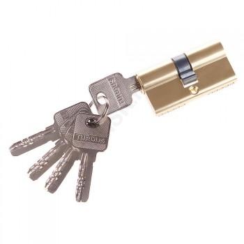 Цилиндр 60-30/30 ключ/ключ в цвете РВ Золото. (Товар № ZF47231)