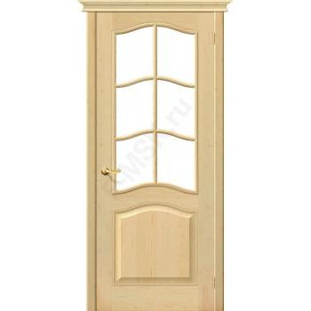 Межкомнатная дверь из массива без отделки М7 (без стекла) в цвете Без отделки. (Товар № ZF47051)