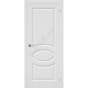 Межкомнатная дверь ПВХ Статус-20 в цвете П-23 (Белый). (Товар № ZF47057)