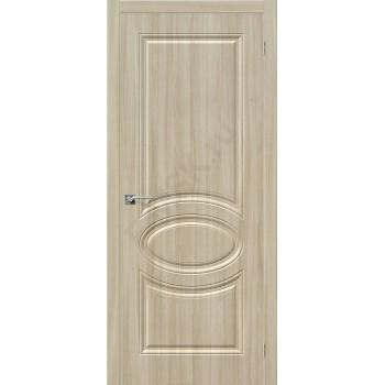 Межкомнатная дверь ПВХ Статус-20 в цвете П-34 (Шимо Светлый). (Товар № ZF47059)