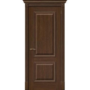 Межкомнатная дверь Вуд Классик-12 - в цвете Golden Oak (Товар № ZF47181)