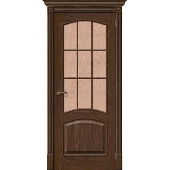 Межкомнатная дверь Вуд Классик-33 (Капри-3) - в цвете Golden Oak (Товар № ZF47215)