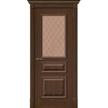 Межкомнатная дверь Вуд Классик-15.1 - в цвете Golden Oak (Товар № ZF47201)