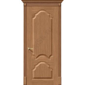 Межкомнатная дверь шпонированная Афина в цвете Ф-02 (Дуб) (Товар № ZF47121)
