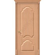 Межкомнатная дверь шпонированная Афина в цвете Ф-01 (Дуб) (Товар № ZF47115)