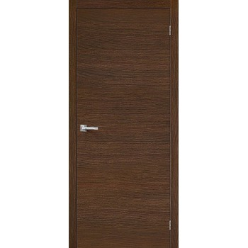 Межкомнатная дверь Вуд Флэт-0V1 - в цвете Golden Oak H (Товар № ZF47219)