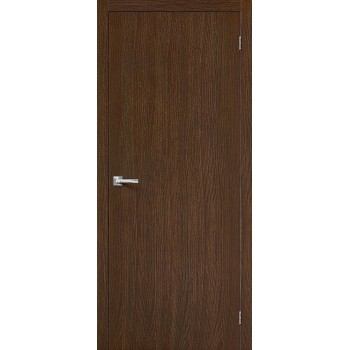 Межкомнатная дверь Вуд Флэт-0V1 - в цвете Golden Oak V (Товар № ZF47223)