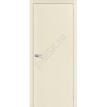 Межкомнатная дверь Вуд Флэт-0V1 - в цвете Ivory V (Товар № ZF47225)